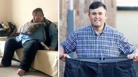 Craig Moody hat 115 Kilo in12 Monaten abgespeckt.