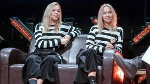 Die Stuttgarter Zwillinge Lisa und Lena
