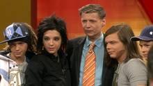 """Die Brüder Tom und Bill Kaulitz waren 2005 mit ihrer Band """"Tokio Hotel"""" zu Gast bei stern TV."""