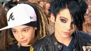 Die Brüder Tom und Bill Kaulitz 2005 bei stern TV.