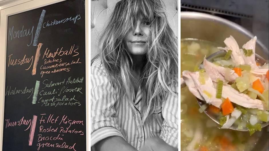 Hühnersuppe und Meatballs: Das kommt bei Familie Klum/Kaulitz auf den Mittagstisch
