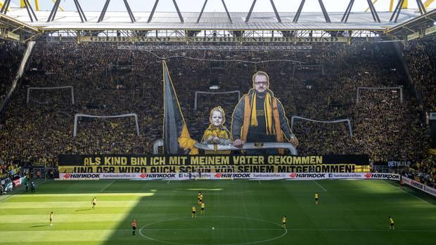 Choreo Dortmund-Fans