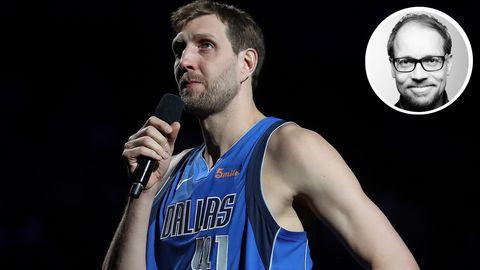 Dirk Nowitzki beendet unter Tränen seine Basketball-Karriere – stern-Reporter Jens König berichtet vor Ort
