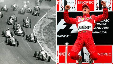 Königsklasse des Motorsports: Zum 1000. Rennen: Die Formel 1 zwischen Triumph, Temporausch und Tod