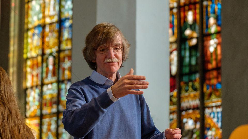 Seit 2016 leitet Gotthold Schwarzden Thomanerchor, so wie einst Johann Sebastian Bach