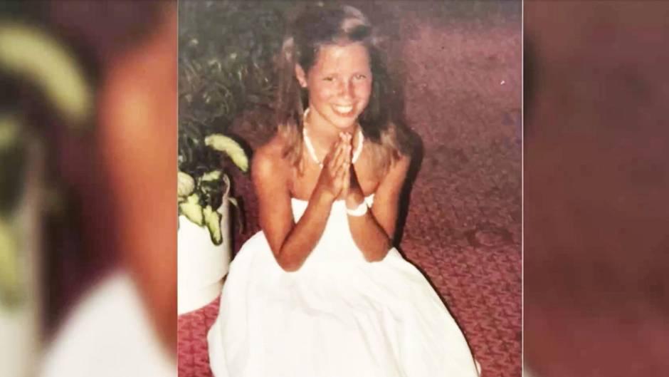 Neun Jahre alt: Moderatorin postet altes Kinderfoto: Um welchen Promi handelt es sich?