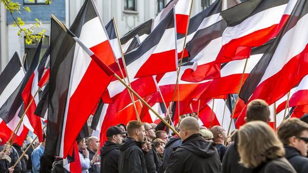 Rechte Demo in Essen