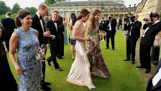 Prinz William Herzogin Kate Rose Hanbury