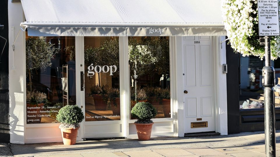 """Beste Lage: Der Londoner """"Goop""""-Laden findet sich im Stadtteil Notting Hill"""