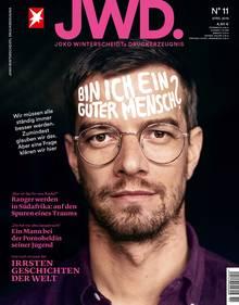 Joko Winterscheidt auf dem Cover der JWD, Ausgabe 11