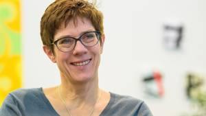 Annegret Kramp-Karrenbauer über ihre Herausforderungen als CDU-Chefin