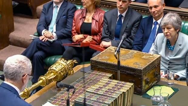 Für das Brexit-Chaos in Westminster konnte Gina Millerwahrhaftig nichts