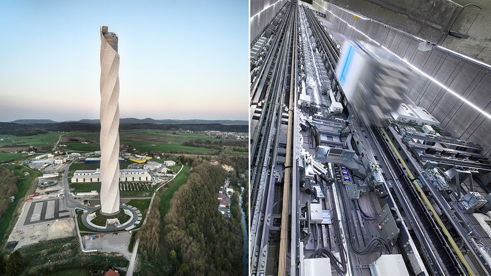 """""""Multi""""-Aufzug: Magnetkissen und Transrapid-Technik – dieser Fahrstuhl fährt bis in den Himmel"""