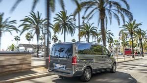 Mercedes V 300d - optisch kaum als neues Modell zu erkennen