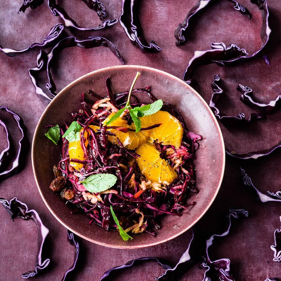 Rezepte zum Nachkochen: Wer etwas für die Umwelt tun möchte, sollte Rotkohl essen