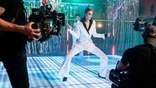 Simone bei ihrer Tanz-Performance in Folge zehn von GNTM