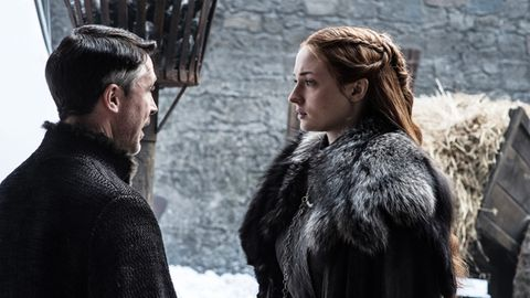 Sansa Stark hat sich seit dem Anfang als Möchtegern-Prinzessin ziemlich verändert