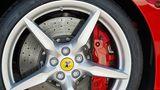 Der Goodyear Eagle F1 Supersport passt da schon eher auf Ferrari und Kollegen