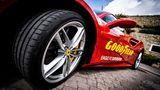 Der Goodyear Eagle F1 Supersport auf dem Ferrari 488