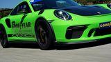 Mit dem Goodyear Eagle F1 und dem Porsche GT3 RS auf dem Ascari Race Track