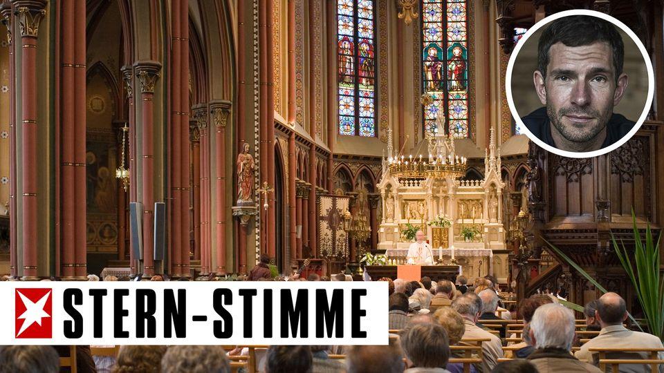 M. Beisenherz: Sorry, ich bin privat hier: Kirche - oder soll man es lassen?