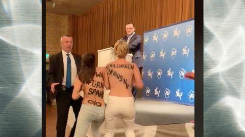 Jens Spahn Nackt Protest