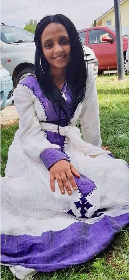 Die 20-jährige Eritreerin Bisrat Tewelde Habt