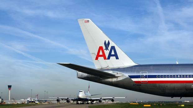 Eine Maschine der Fluglinie American Airlines. In so einer trug sich der Vorfall zu.