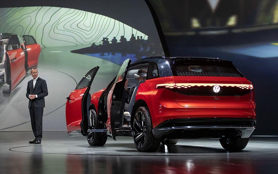 VW ID. Roomzz 2019 auf der Auto China 2019