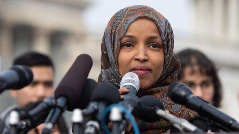 Ilhan Omar ist Ziel wüster Attacken von Trump und Konservativen