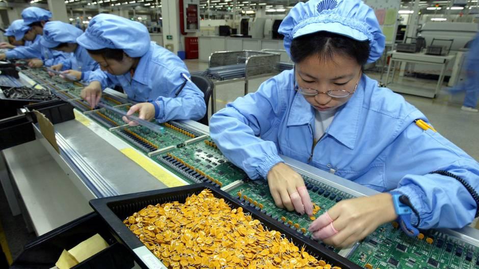 Mitarbeiterin bei Huawei