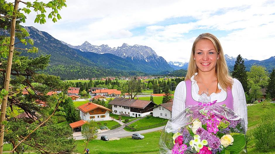 Magdalena Neuner, 32, mehrfache Biathlon-Olympiasiegerin und -Weltmeisterin, lebt in Wallgau in Oberbayern