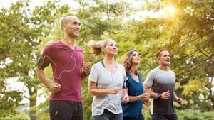 Bewegung macht Spaß und ist gesund