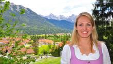 Die mehrfache Biathlon-Olympiasiegerin und -Weltmeisterin Madalena Neuner liebt Wanderungen in den Bergen