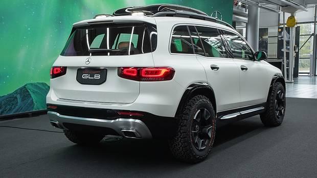 Mercedes GLB Concept 2019 - auch von hinten beinahe ein GLS
