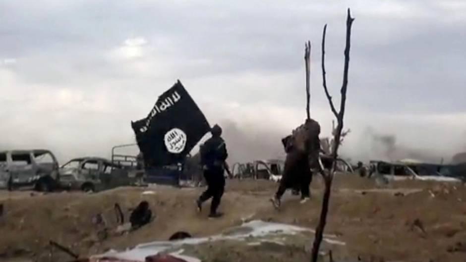 IS-Kämpfer in Syrien