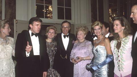 Donald Trump und Geschwister