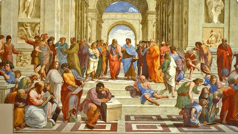"""Raffaels """"Schule von Athen"""""""