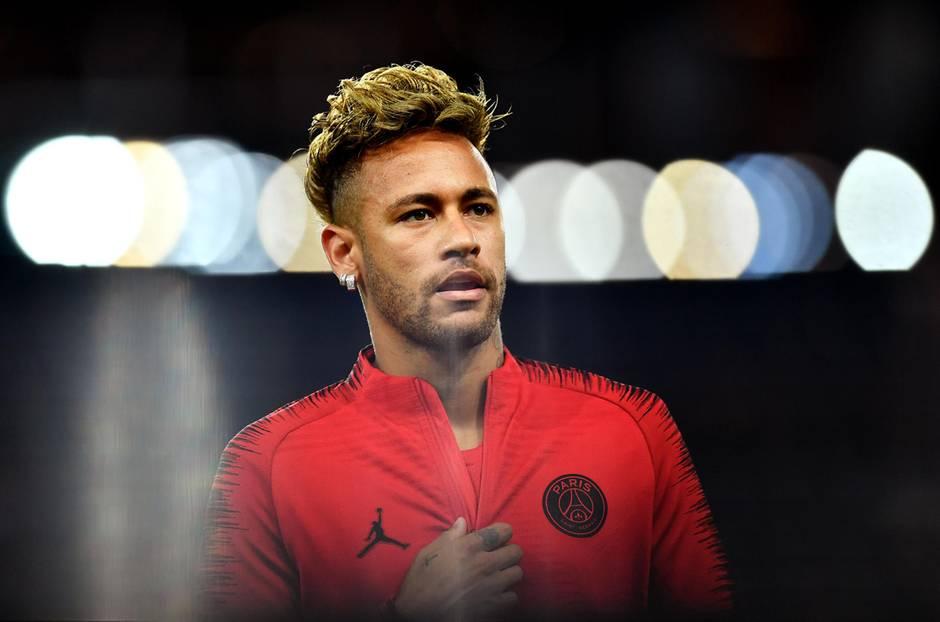 Neymar spielt seit 2017 bei Paris St. Germain