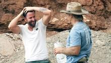 Michael Wendler und Konny Reimann gemeinsam in der Wüste