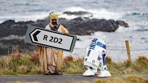 DieRegionalstraße in der irischen Grafschaft Donegal heißt jetztR2D2