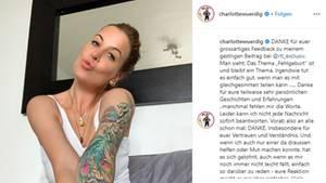 Charlotte Würdig spricht über das Thema Fehlgeburten