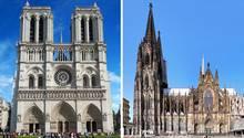 Brand des Notre-Dame: Was wäre, wenn: Der Kölner Dom fängt Feuer – diese Vorkehrungen hat die Feuerwehr getroffen