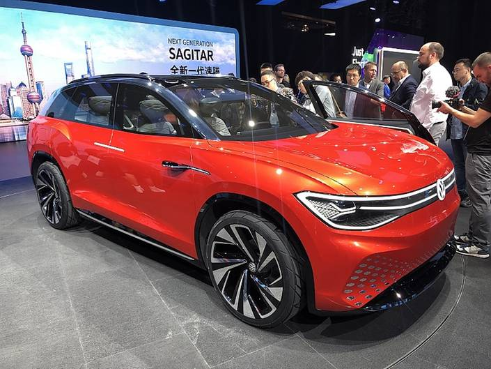 VW ID. Roomzz - mit Platz für sieben