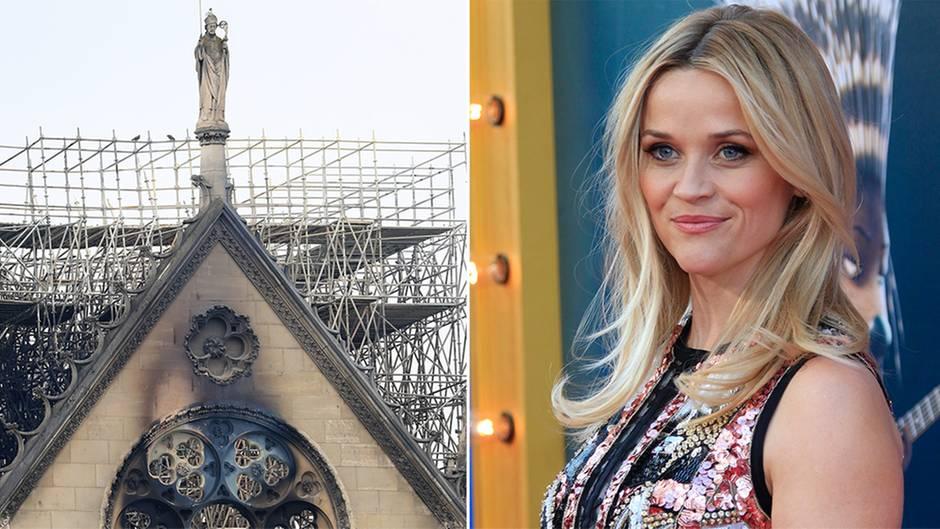 Notre-Dame: Brand von Kathedrale in Paris: So reagieren Prominente auf der ganzen Welt