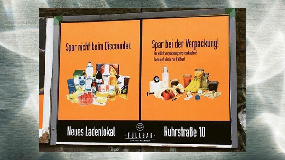 Netto Werbung Unverpacktladen