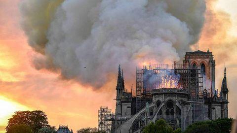Die Kathedrale Notre-Dame soll schnellstmöglich wieder aufgebaut werden
