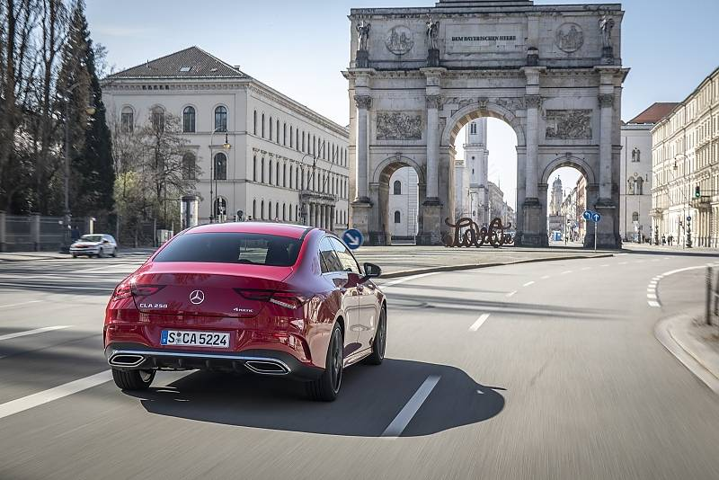 Mercedes CLA 250 4matic - eine echte Gefahr für die C-Klasse