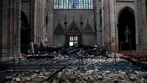 Notre-Dame stand offenbar kurz vor kompletter Zerstörung