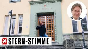 Im Irmgardis-Gymnasium war Frank Behrendt als Berufspate im Einsatz